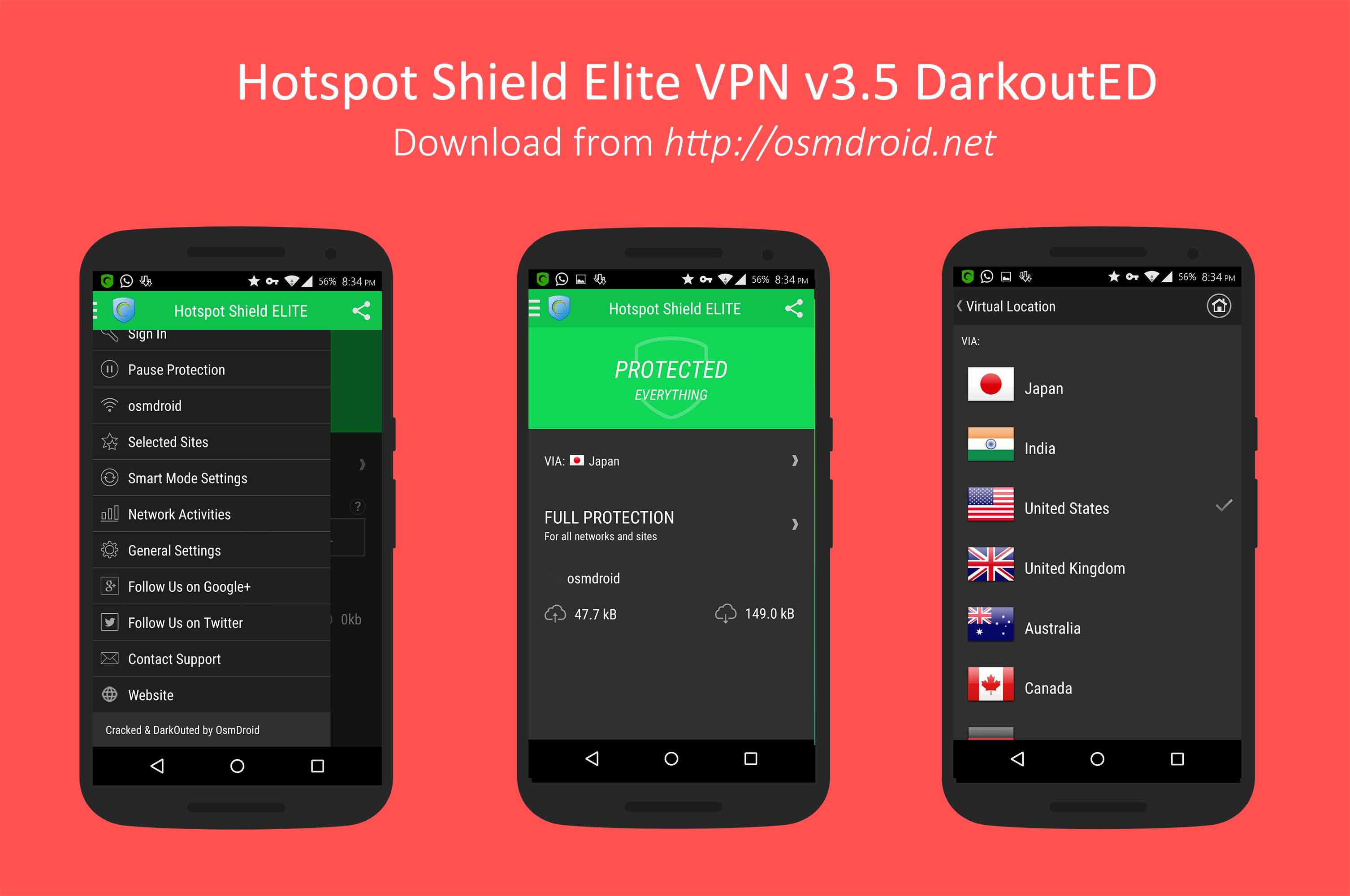 hotspot shield mod apk free download