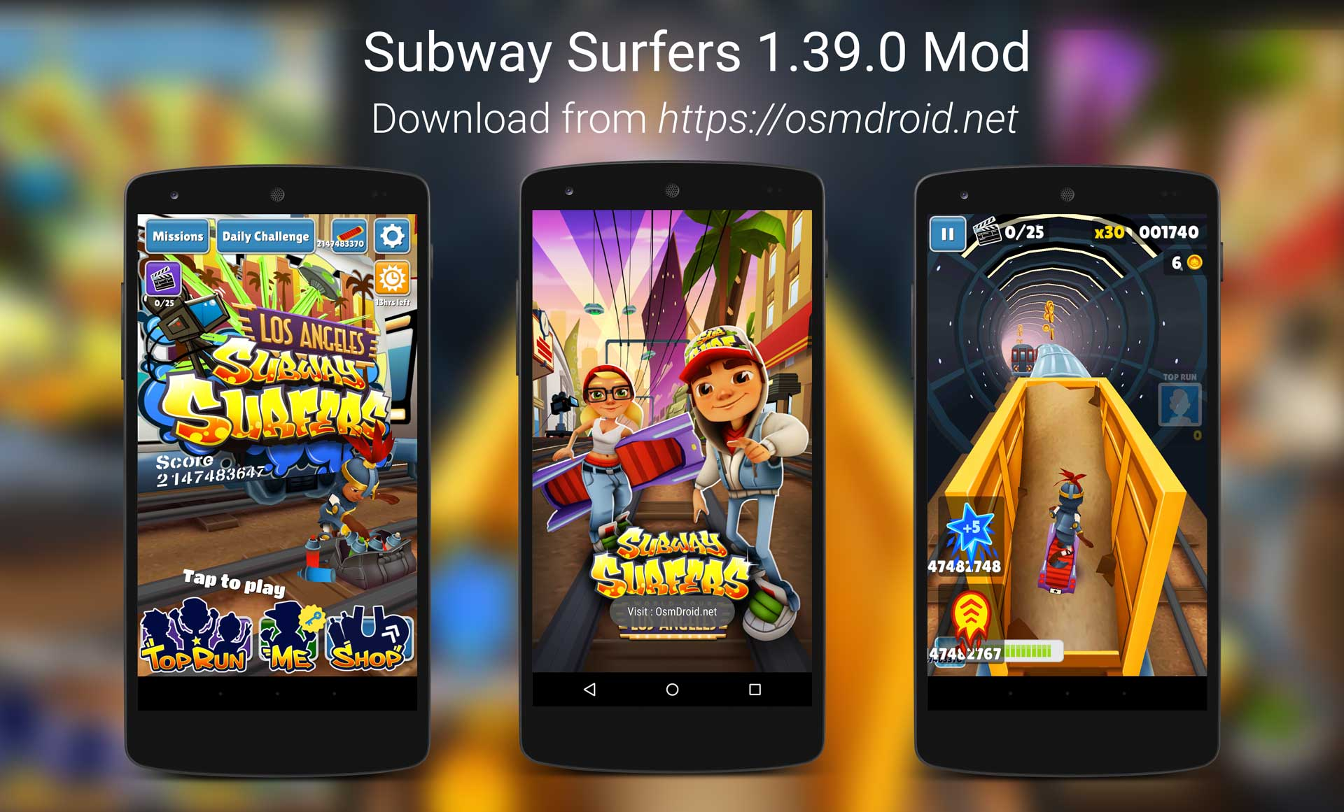 Subway Surfers 1.39.0 Mod Android APK