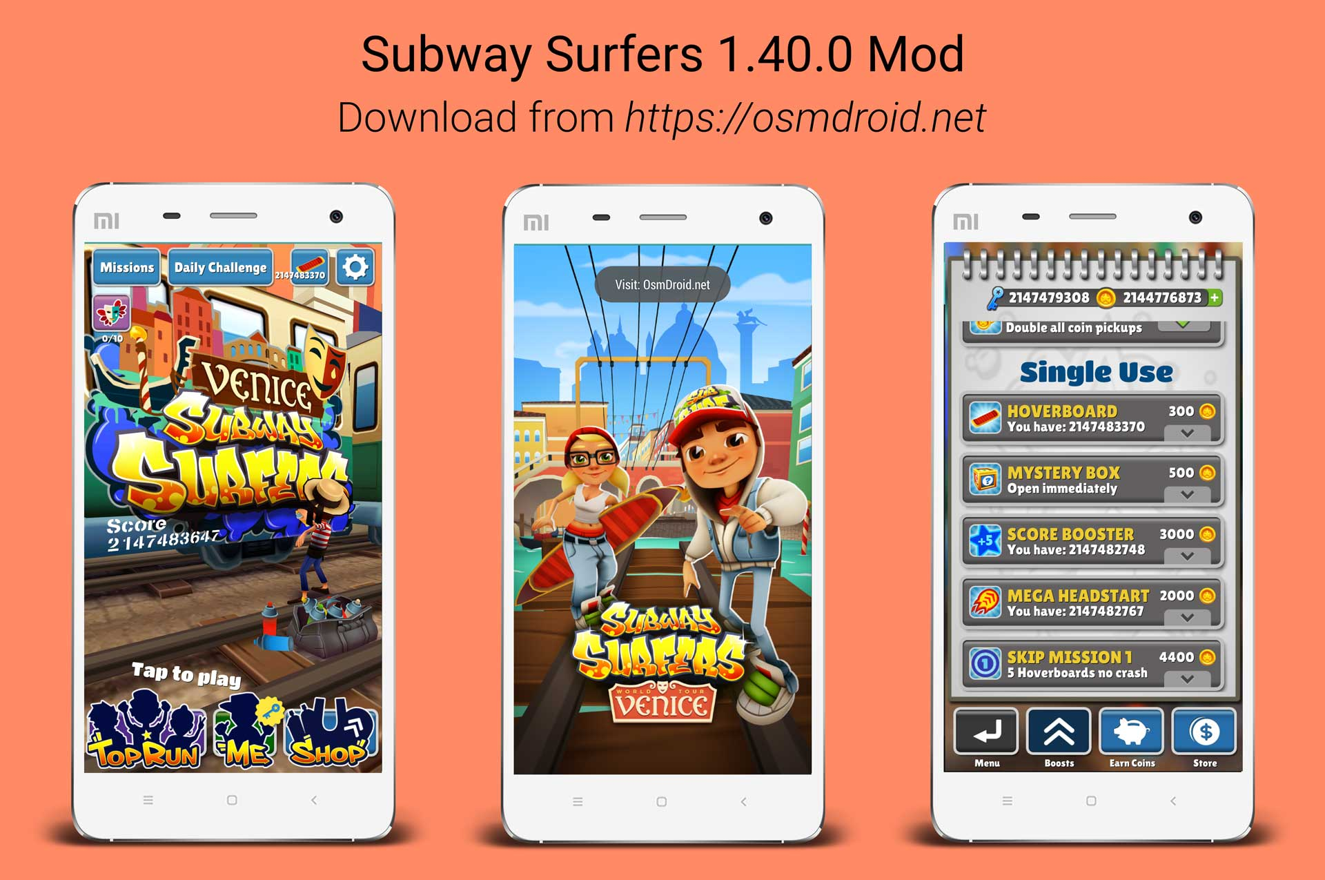Subway Surfers 1.40.0 Mod APK Android