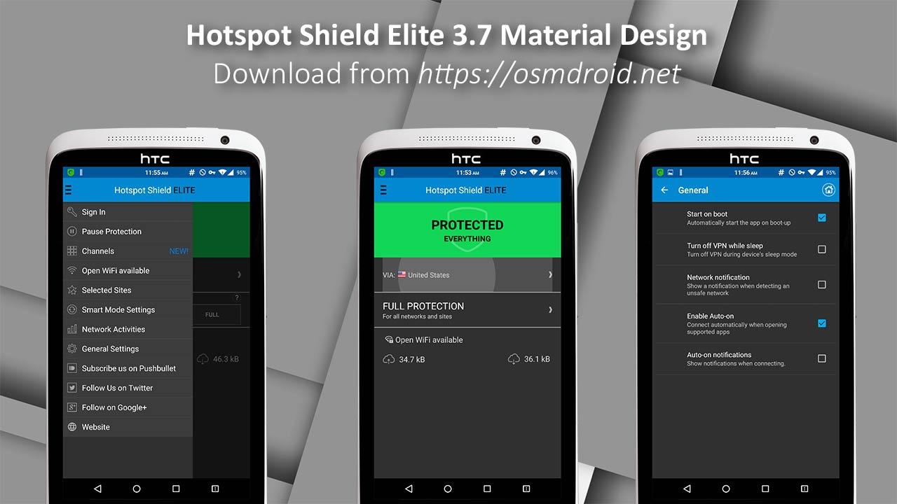 how to use hotspot shield vpn