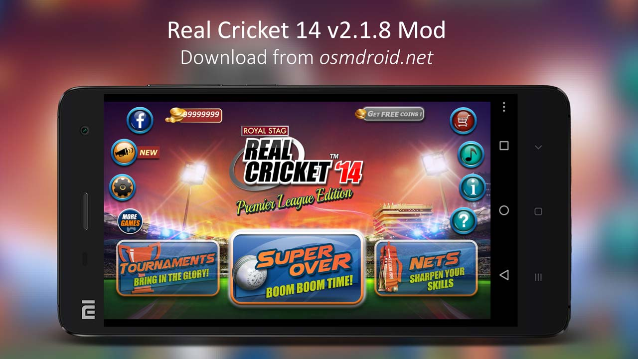 Real Cricket 14 v2.1.8 Mod