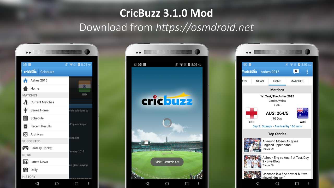 cricbuzz 3.1.0