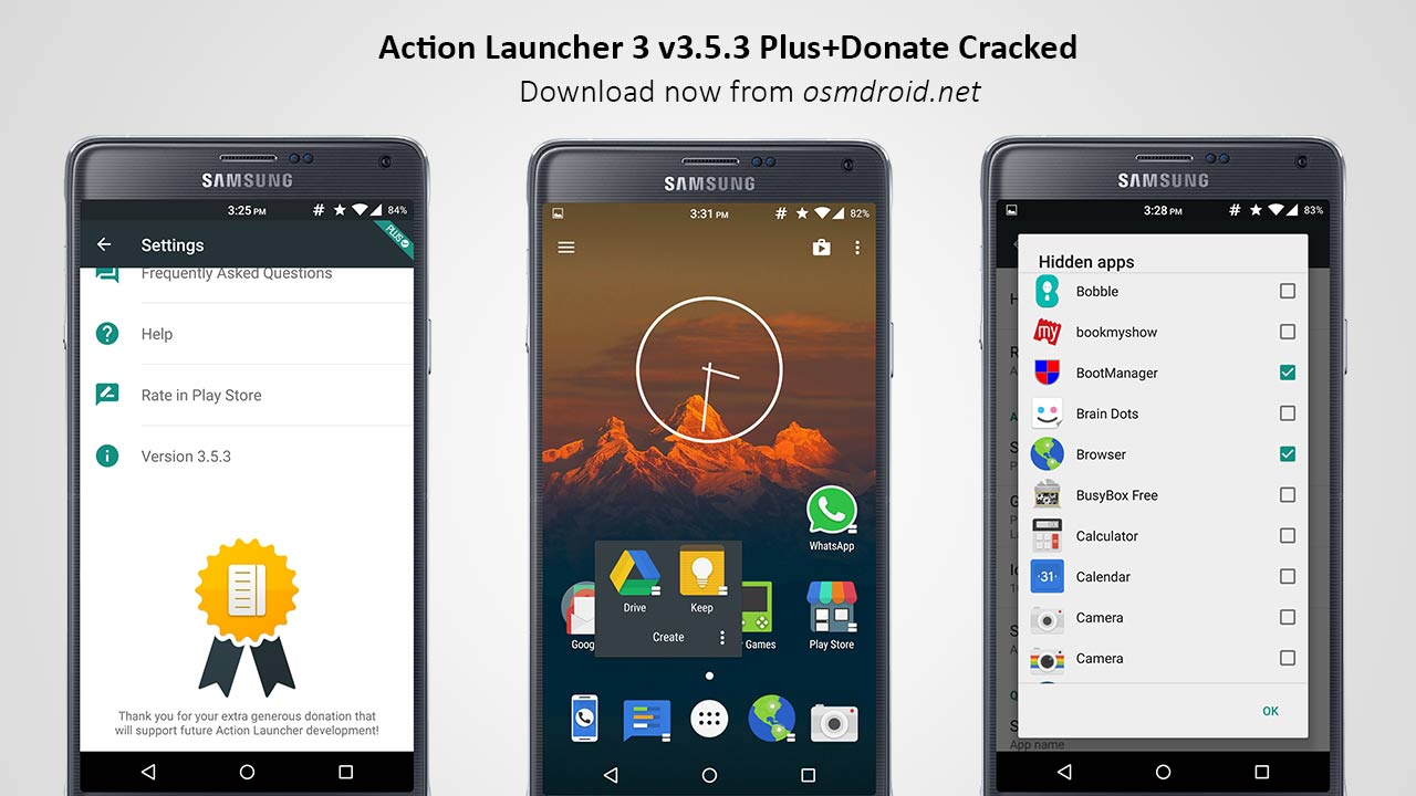 download action launcher