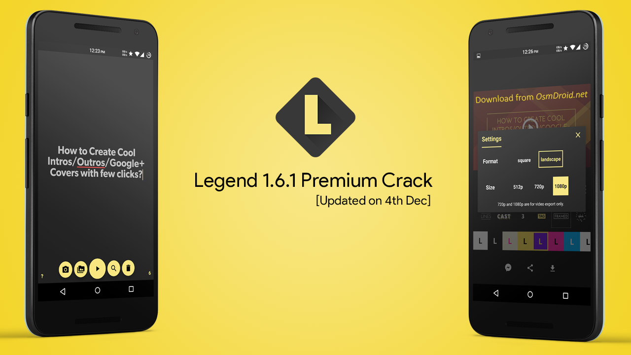 Legend Premium 1.6.1 APK Unlocked Cracked | Working | Free