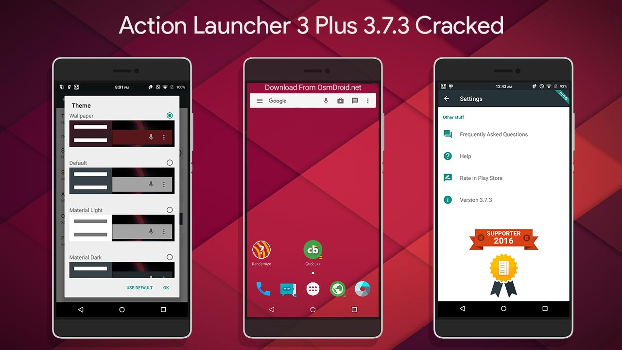 Action Launcher 3 Plus 3 7 3 Pro Cracked apk Free Download