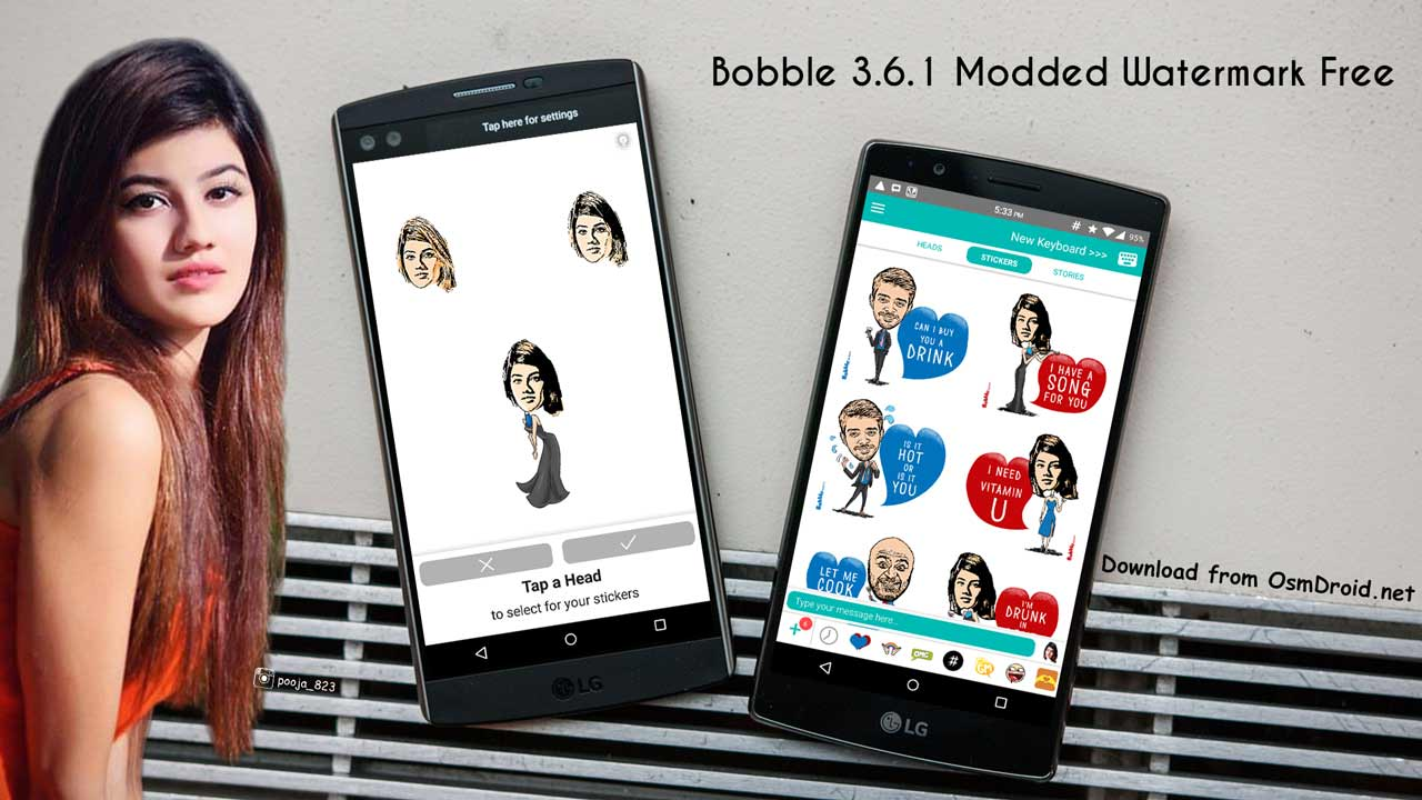 bobble stickers