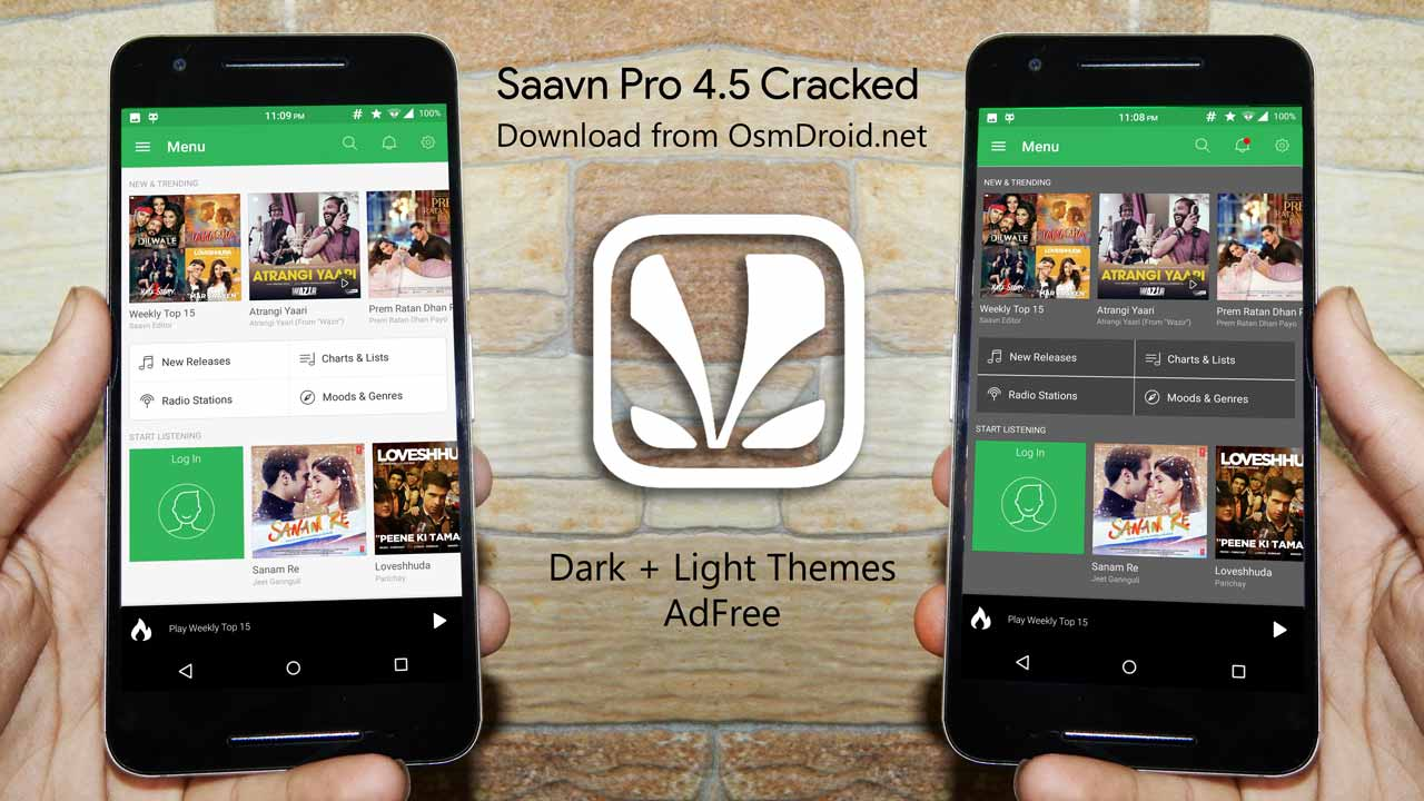 Saavn Old version Bug free v4.5 if v5.6  not work