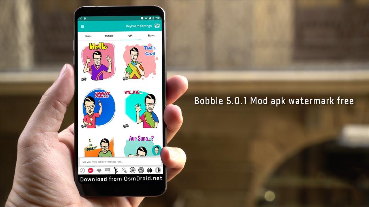 bobble mod watermark free