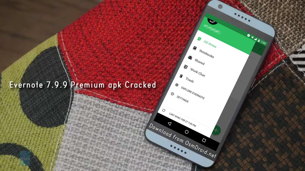 Evernote Premium 7 9 9 apk cracked patched unlocked hack full free app