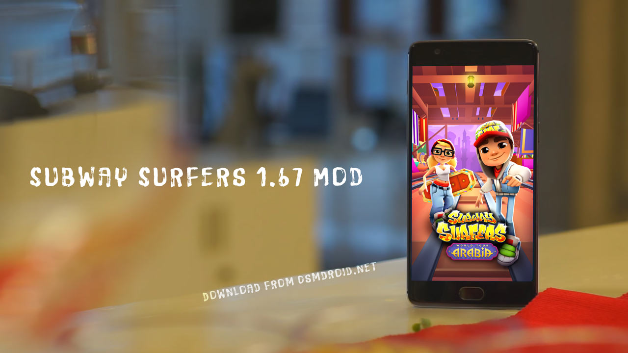 subway surfers arabia mod