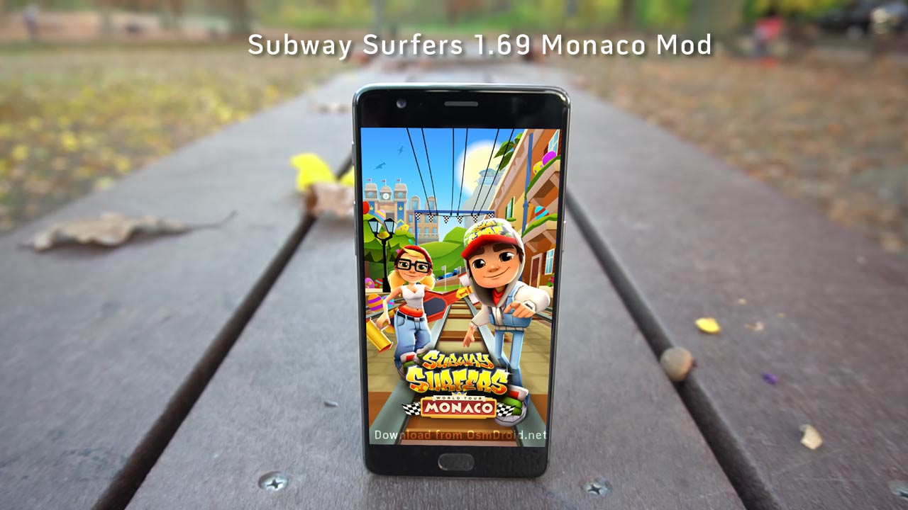 Subway Surfers 1.69.0 apk mod Monaco unlimited keys coins unlocked ...