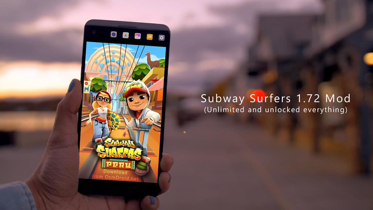subway surfers peru