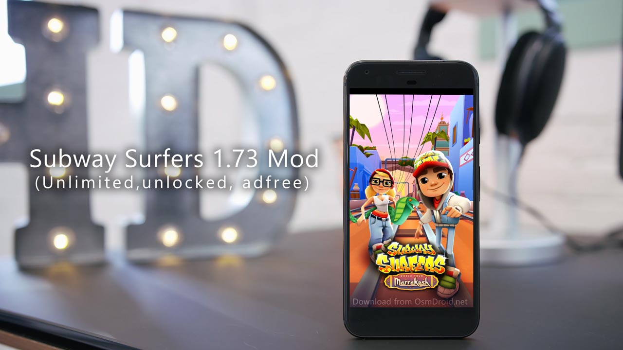 Subway Surfers Latest Version v1.73.1 Marracash Morocco Mod Cracked Free Download