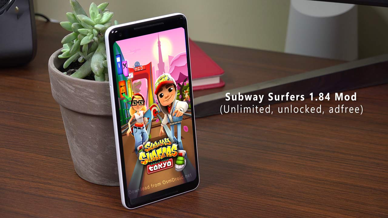 download subway surfers hack version from apkhouse