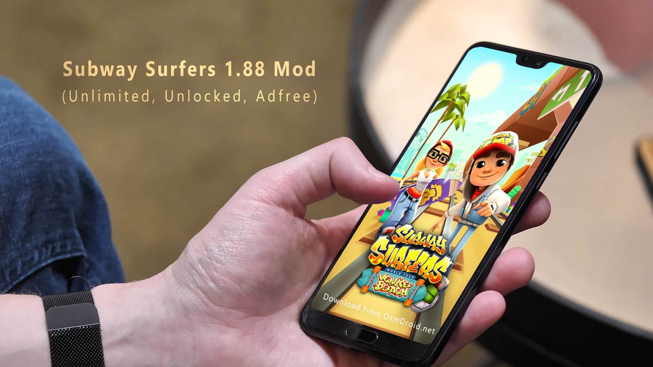 subway surfers hacked apk android 1